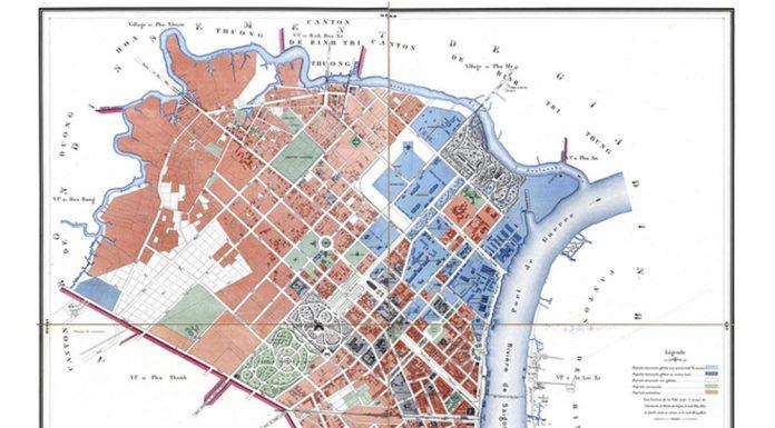 Sinh hoạt khoa học và trưng bày bản đồ về Sài Gòn - TP. Hồ Chí Minh