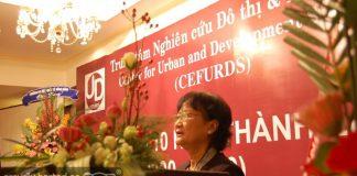 PGS.TS Tôn Nữ Quỳnh Trân phát biểu nhân dịp kỷ niệm 10 năm thành lập Trung tâm (2000 - 2010)